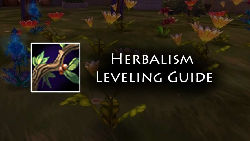 TBC Herbalism Leveling Guide