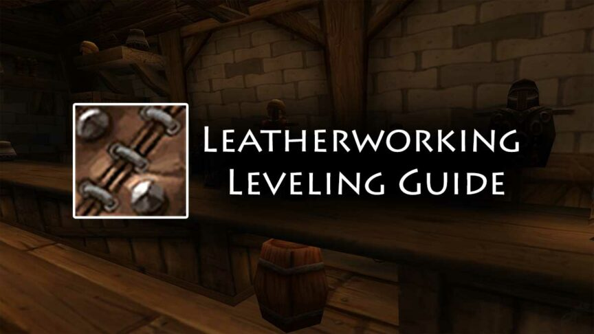 TBC Leatherworking Leveling Guide