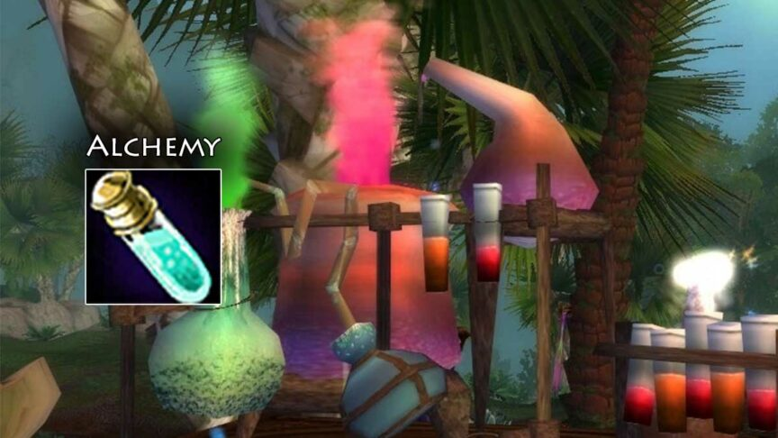 alchemy leveling guide