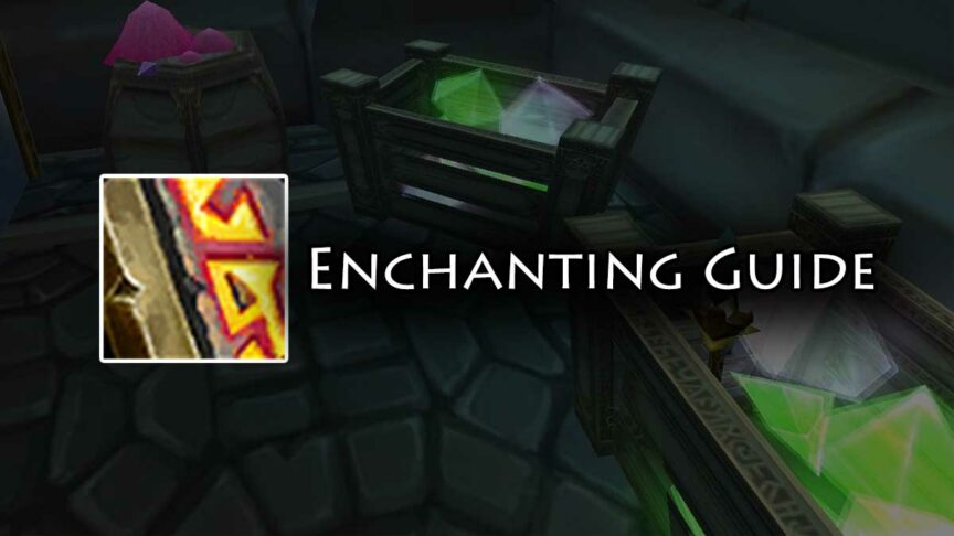 tbc enchanting leveling guide