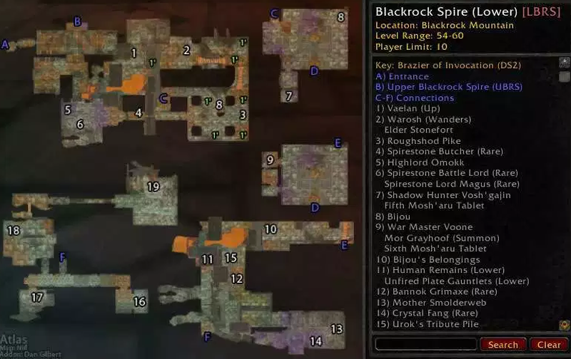 LBRS Map (from Atlas Addon)
