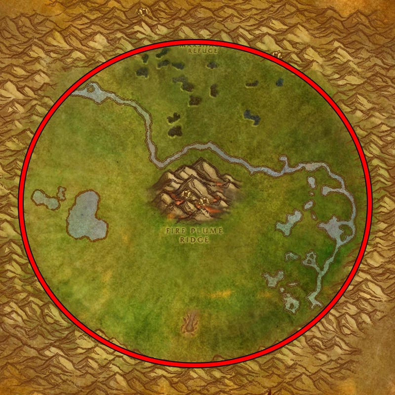 un'goro crater thorium & mountain silversage farming route