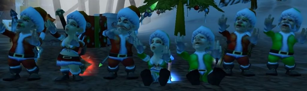 winter veil singing gnomes
