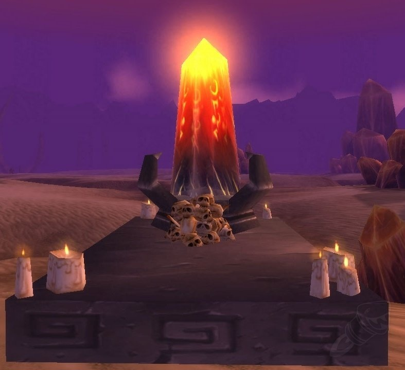 A WInd Stone in Silithus